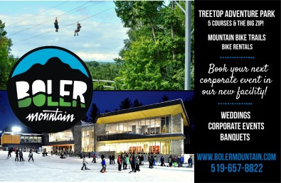 Book your next corporate event in our new facility at Boler Mountain
