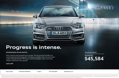 Introducing the all-new Audi A4.