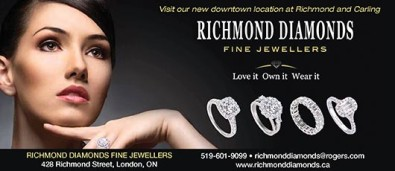 Visit RICHMOND DIAMONDS new downtown location at Richmond and Carling