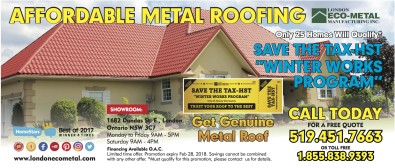 AFFORDABLE METAL ROOFING
