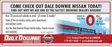 COME CHECK OUT DALE DOWNIE NISSAN TODAY!