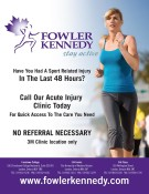 Have You Had A Sport Related Injury In The Last 48 Hours?